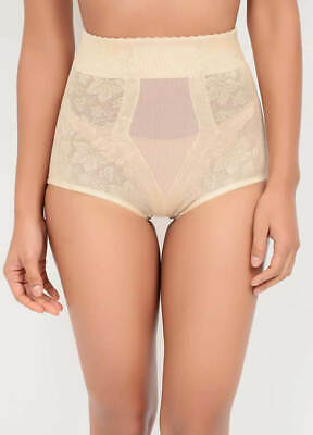 Leigh High Waist Lace Jacquard Control Brief