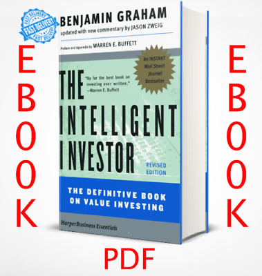 The Intelligent Investor: The Definitive Book on Value Investing 🔥P.D.F⚡FAST