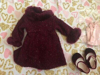 American Girl Doll opening night FANCY WINTER outfit sweater dress outfit
