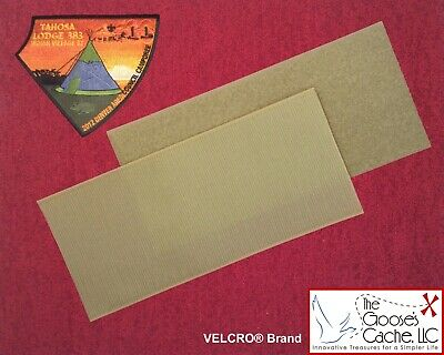 TAN SEW-ON VELCRO® Brand fasteners for Attaching Patches to