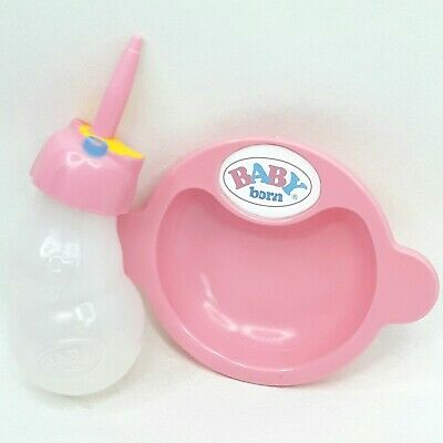 Zapf Baby Born doll toy Bowl Bottle Accessories