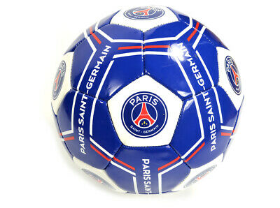 Paris Saint Germain Football Size 5 Blue White Official Merchandise PSG