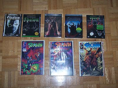 Rare Spawn collection - comic books and dvds - Todd McFarlane - FREE SHIPPING!