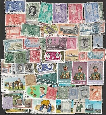 British Colonies & Commonwealth Collection Of Mint Stamps Many Sets Some Mnh