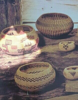 Vintage Macrame Raffia and Pattern How to make  Bowls and mats Coiled Work