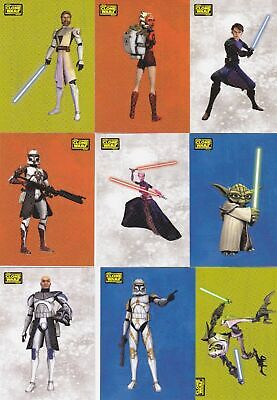 Star Wars - Clone Wars - Complete 90 Card Set - 2008 Topps - NM