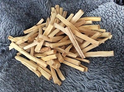 Palo Santo Wood Smudge Ethically Sourced x5 Sticks Holy- NO plastic packaging!