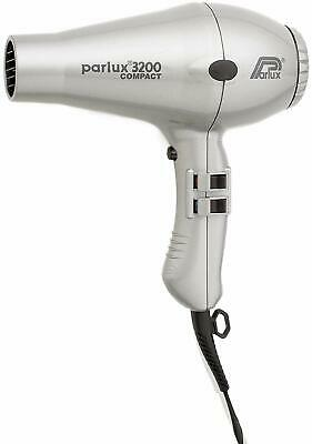 Parlux 3200 Compact Dryer - Silver - UK Plug Slighty Damaged Box
