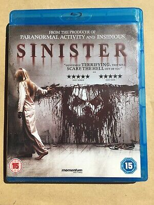 Sinister On Blu-ray/ Horror/ VGC