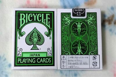 Bicycle Japan Green Playing Cards Deck Brand New Sealed
