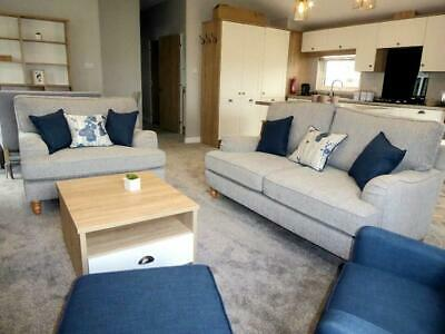 now ready to view!! 3 BED LUXURY LODGE PREMIUM PARK ISLE OF WIGHT