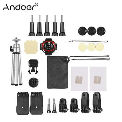 Andoer 32-In-1 Action Camera Accessories Kit for GoPro Hero 7 6 5 4 For Xiaomi