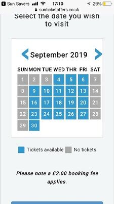 2 Warwick Castle Tickets - ALL Sun Savers Codes Pick Up Your Date
