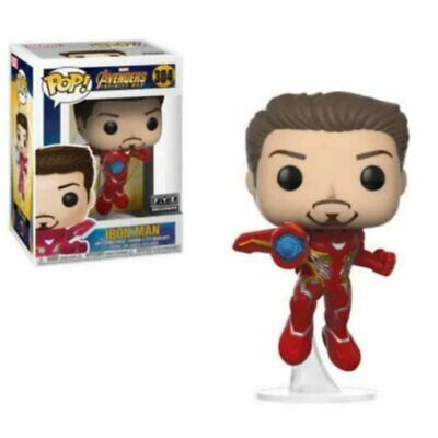 FUNKO POP New Movie Marvel Avengers: Endgame IRON MAN 304# Vinyl Action Figure
