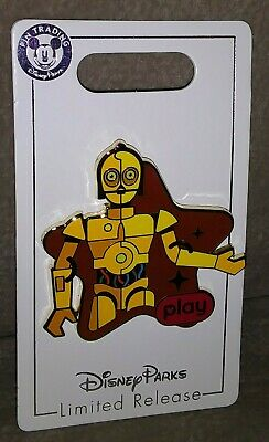2019 Disney Parks Star Wars Play Game App Star Tours C-3PO Pin New IN STOCK