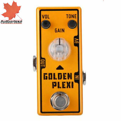 Tone City Golden Plexi Distortion Guitar Effect Compact Foot Pedal New