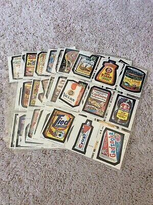 1979 Topps Wacky Packages 66 Card Sticker Set