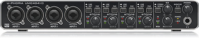 Behringer U-PHORIA UMC404HD - USB 2.0 Audio/MIDI Interface