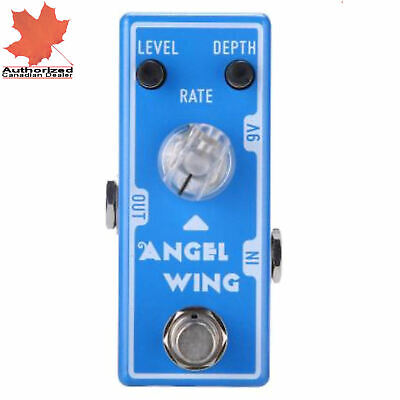 Tone City Angel Wing Chorus Guitar Effect Compact Foot Pedal New