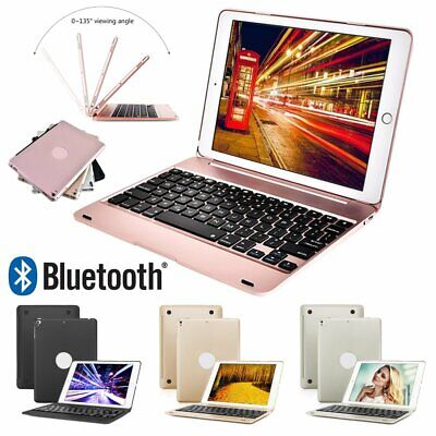 Wireless Bluetooth Keyboard Smart Cover Case For iPad 6th Generation 2018 Air 2