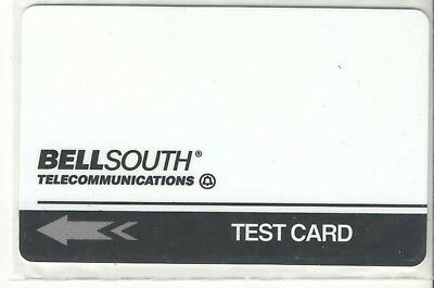 Bell South 1994 Test Phone Card Mint
