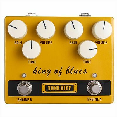 TONE CITY King of Blues Guitar Overdrive Effect Pedal True Bypass