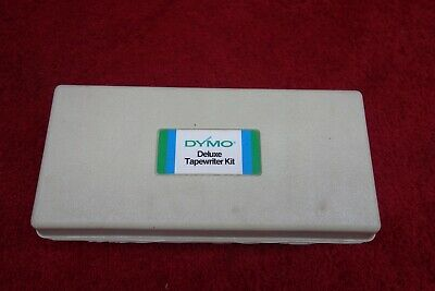 Dymo Deluxe Tapewriter Kit