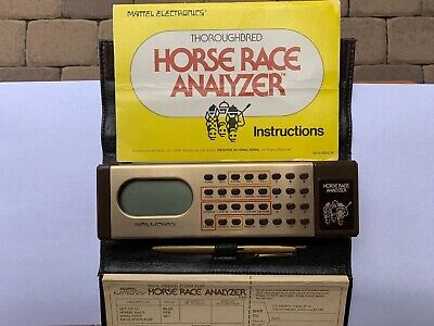 THOROUGHBRED HORSE RACE Handicapping Software - Perfect Trip