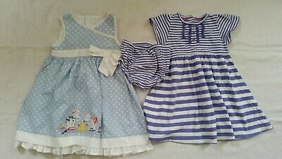 Baby Girl M&S and mothercare clothe dress  Bundle,  12-18m