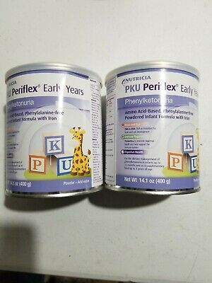 Nutricia Infant Powder Formula PKU Periflex Early Years 14.1oz (2cans)
