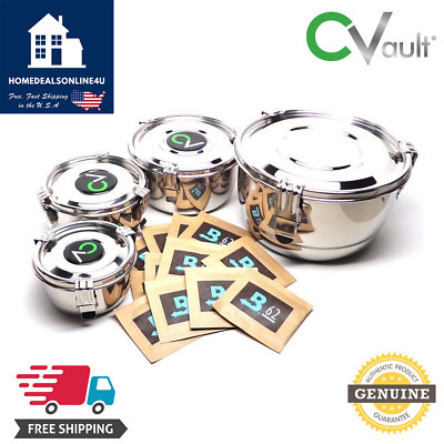CVault Storage Containers Lot [ALL SIZES] by FreshStor + Free Shipping! ✈️