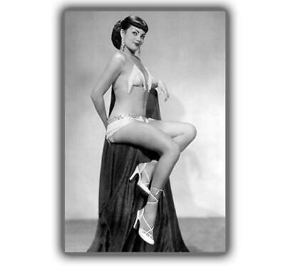 """Tana Louise - Retro and Vintage PinUp Models Photo Size """"4 x 6"""" inch H"""