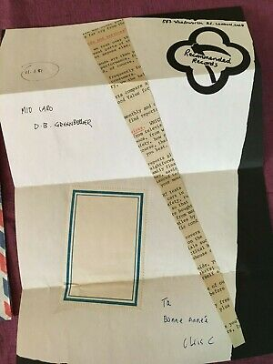 Chris Cutler Mail Art Recommended Records 1981 Airmail Collage Henry Cow