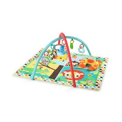 Bright Starts Fun Activity Room Gym/Mat Pad for 0m+ Baby Infant w/ Toys/Mirror