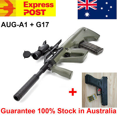 AUG-A1 Gel Ball Blaster Water Bullets Mag-fed Toy Gun + Manual G17 100% AU Stock