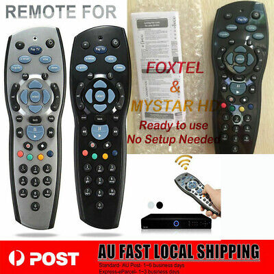 2019 Genuine Foxtel Remote compatible with iQ1, iQ2, iQ3, IQ4 MyStar, MyStar2