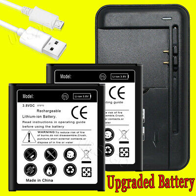 Upgraded Battery Charger For Samsung Galaxy Core Prime SM-G360T EB-BG360CBE/U/Z