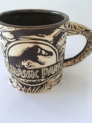 Universal Studios Jurassic Park 3D Sculptured Ceramic Mug, New