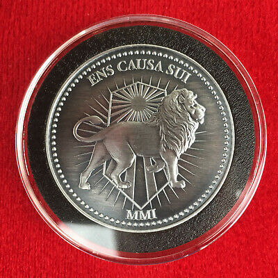 JOHN WICK CONTINENTAL 1 OZ Silver Coin - Custom Antique Finish with Capsule!