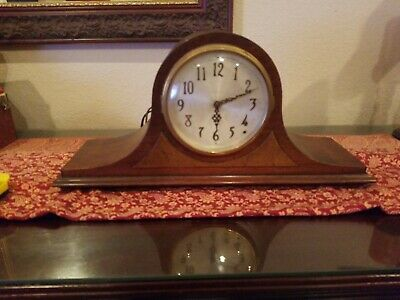 Seth Thomas Antique 8 Day Striking Mantle Clock all Original