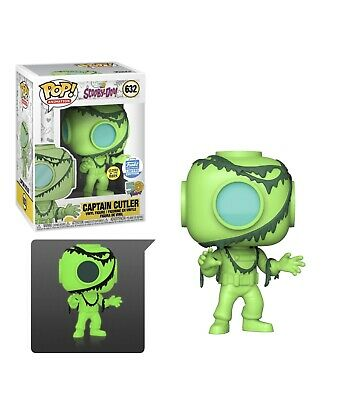 Scooby Doo ~  Funko Pop  ~ Glow In The Dark Captain Cutler ~ Limited Edition