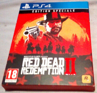 Jeu Video Red Dead Redemption 2 Edition Speciale 2 Cd Sony Playstation 4 Ps4