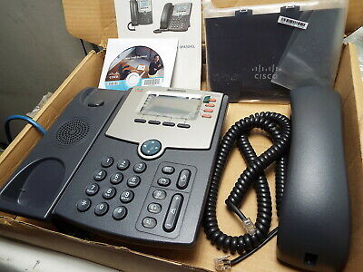 CISCO SPA504G SPA504 4 Line VoIP IP SIP Phone PoE 2 LAN PC Port LCD