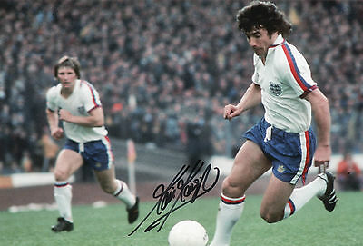 KEVIN KEEGAN In Person Signed 12x8 Photo ENGLAND & LIVERPOOL Legend Proof COA