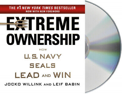 Extreme Ownership: How U.S. Navy Seals Lead and Win [Audio] by Jocko Willink.