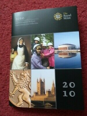 2010 United Kingdom Brilliant Uncirculated Coin Collection, Royal Mint