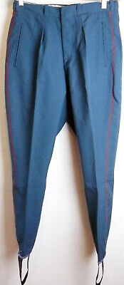Officer Uniform Parade Galliffet Vintage Soviet Army  Pants Galife Trousers USSR