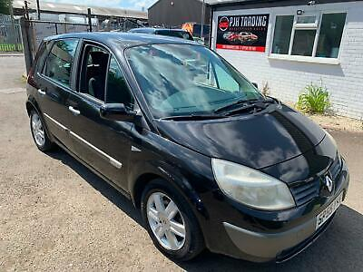 Scenic 1.6 Dynamique Automatic 55 Reg In Black,Only 80,000 Miles,Mot July 2020