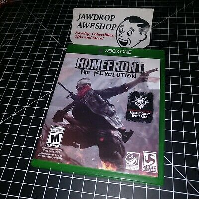 (Replacement Case Only) Homefront The Revolution Xbox One - Xb1 (No Game Incl)