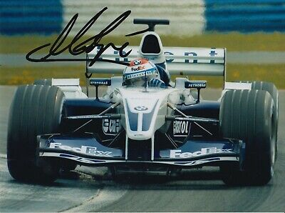 Marc Gene Hand Signed 8x6 Photo - F1 Williams Autograph 2.